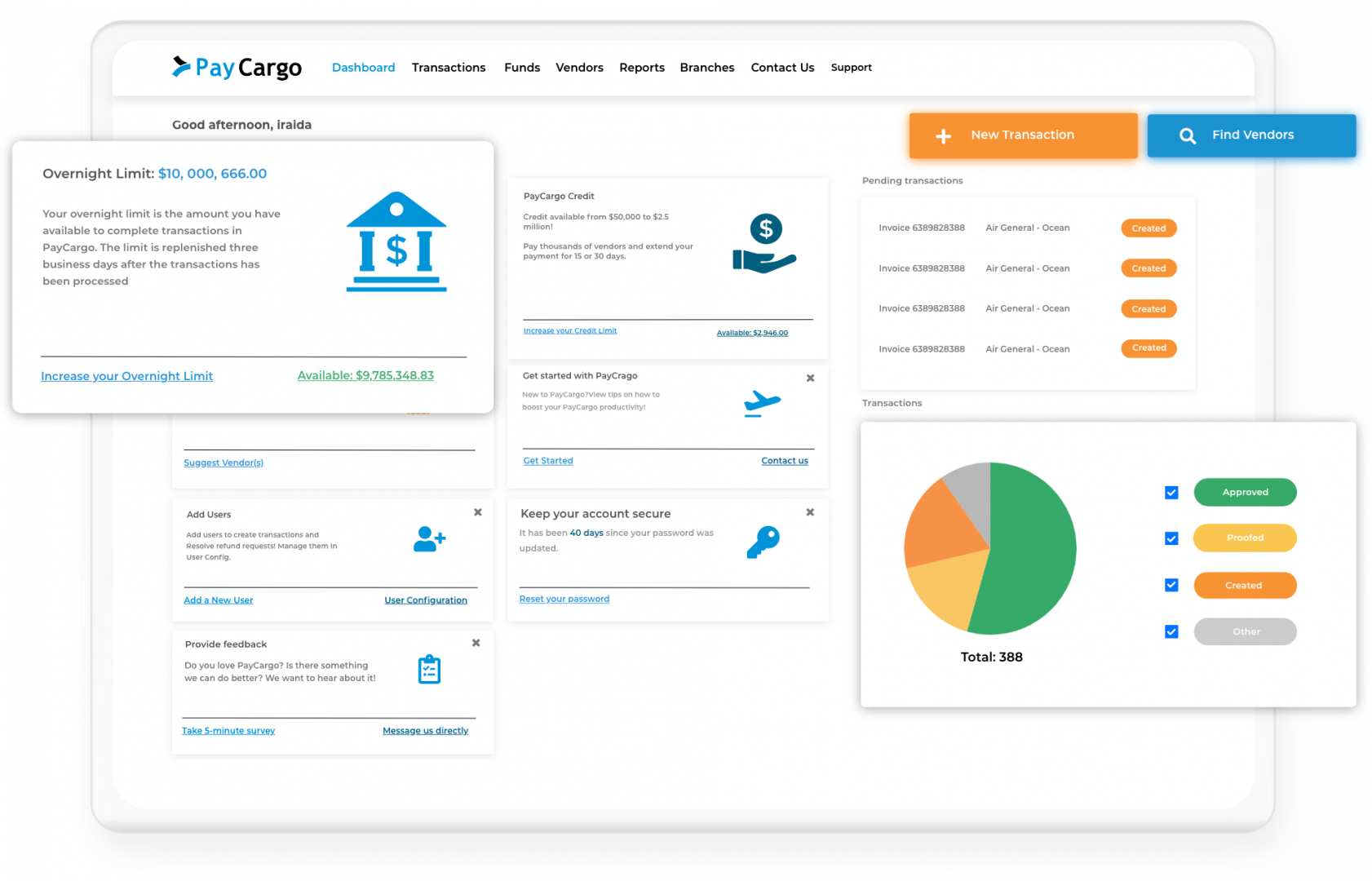 payer interface