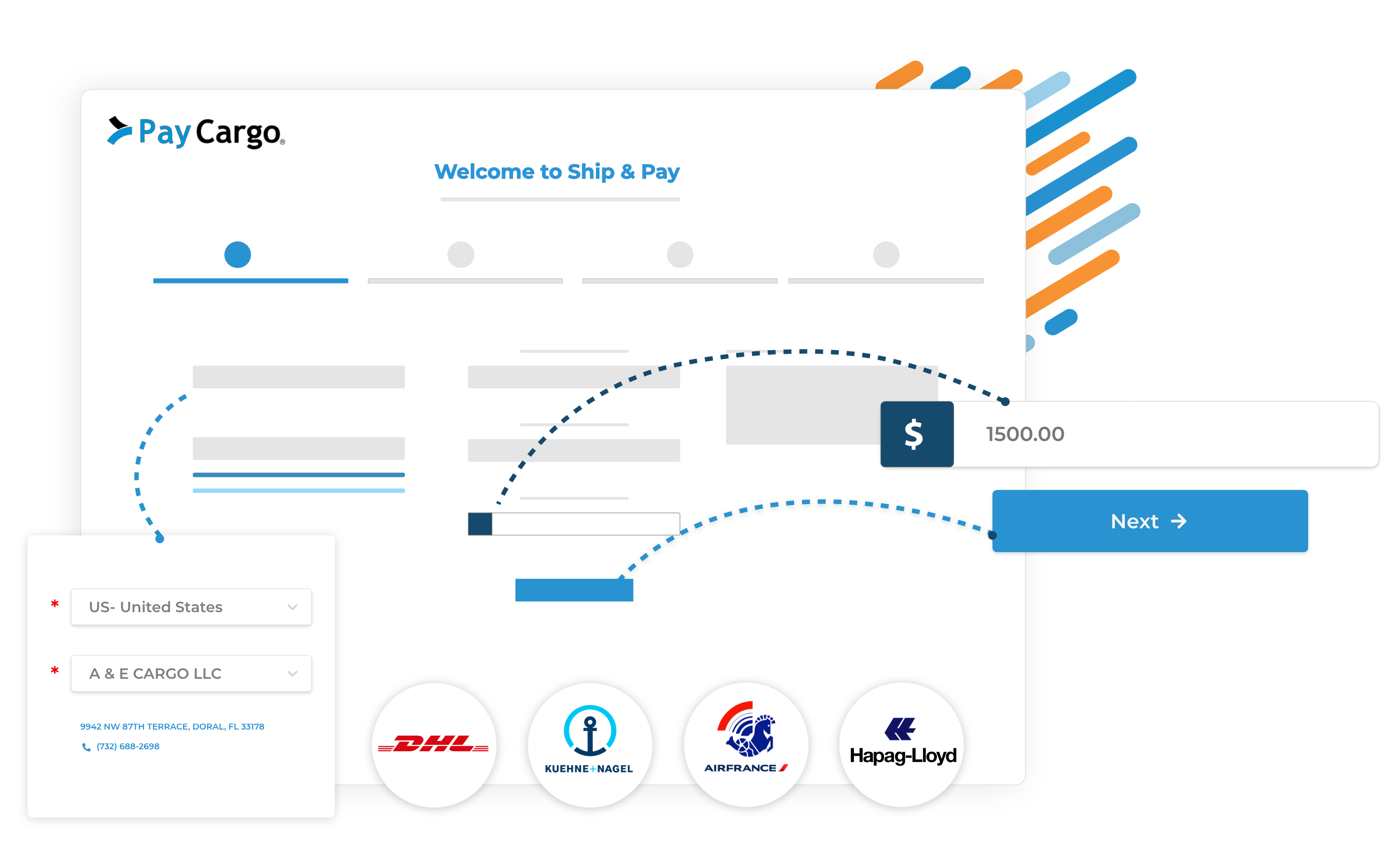 paycargo ship and pay